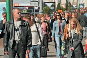Жители города Москвы